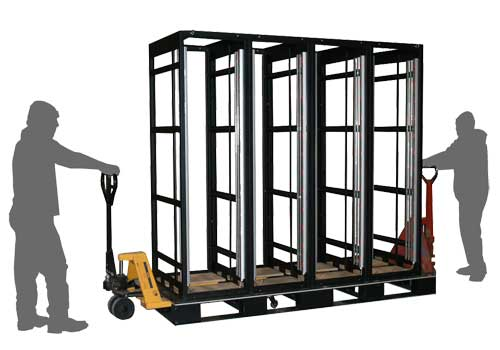 AVM Rack Pod Transportable Rack System